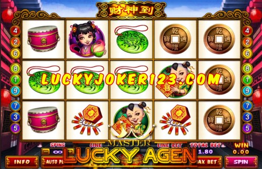 Agen Judi Slot Lucky God Progressive Joker123
